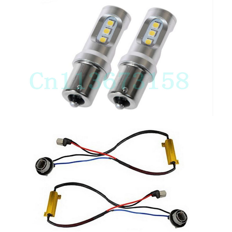 Free Shipping 2pc/lot Car Led lamp Bulb Rear direction indicator Lamp For SKODA SUPERB (3V3) 2015+