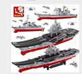 JOY MAGS Sluban M38-B0388 Aircraft Carrier Military Ship Building Block Brick Flattop Navigation Kids Toys Christmas Gifts
