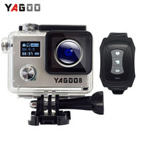 Yagoo8 Dual Screen 2 0 LCD 4K Action Camera WiFi Full HD 1080P 24fps Mini Helmet