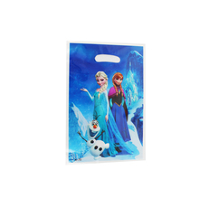 Disney Frozen Movie Elsa Anna Kid Boy Girl Baby Birthday Party Decorations Kids Supplies Favors Loot Bag Gift Bag 12pcs/lot