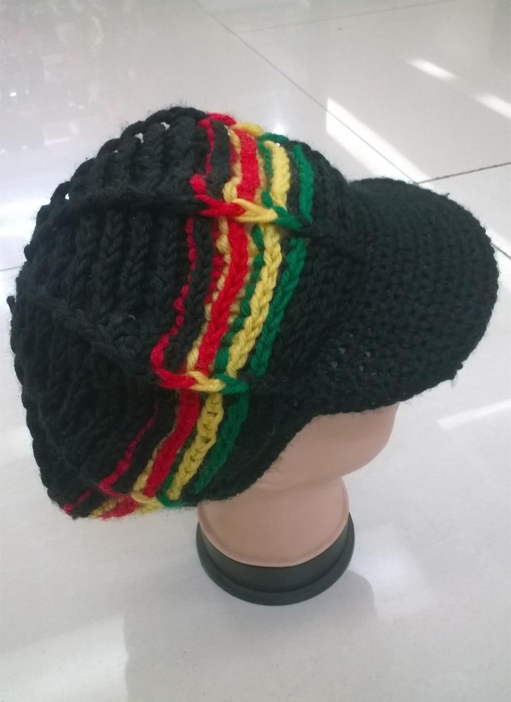 Bob Marley Hat Crochet Pattern