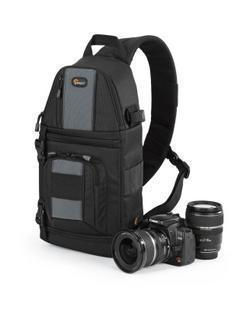 Lowepro SlingShot 102 AW Camera Backpack Shoulder Bag with Cover All Weather