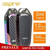 Presale Aspire AVP AIO Kit Vape 2ml Capacity Pod With 1.2ohm Nichrome Coil Built in 700mAh battery Electronic Cigarette Vapeador