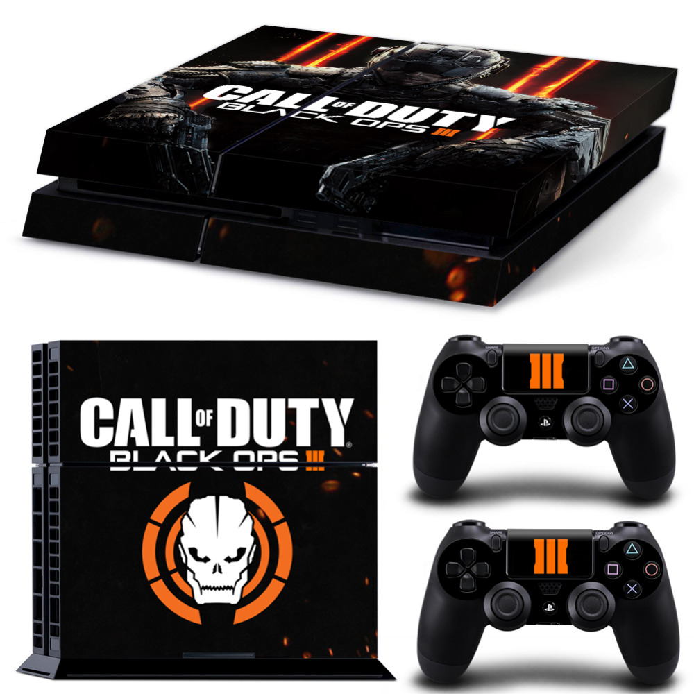 Oststicker Custom Pvc Black Decals Stickers For Ps4 Console For