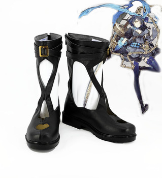 SINoALICE Alice Black Cosplay Boots Shoes Custom Made the rising of the shield hero itsuki kawasumi shoes cosplay boots custom made any size