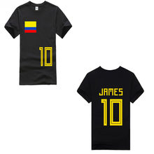 c0f48bab89d Round Neck Teenage Pop Top Tee Colombia 2018 Country Flag T-Shirt NO.10  jamer 2018 New Pure Cotton Short Sleeves Hip Hop Fashion