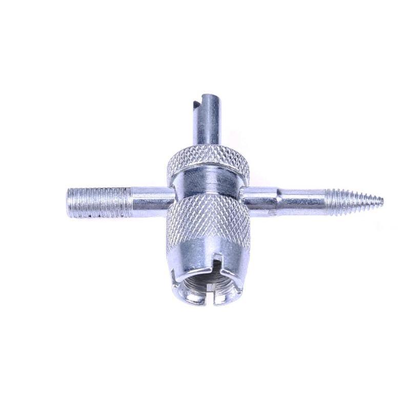 4 Way тележки автомобиля шины отвертки клапан ядро стволовых удаления инструмент для ремонта шин
