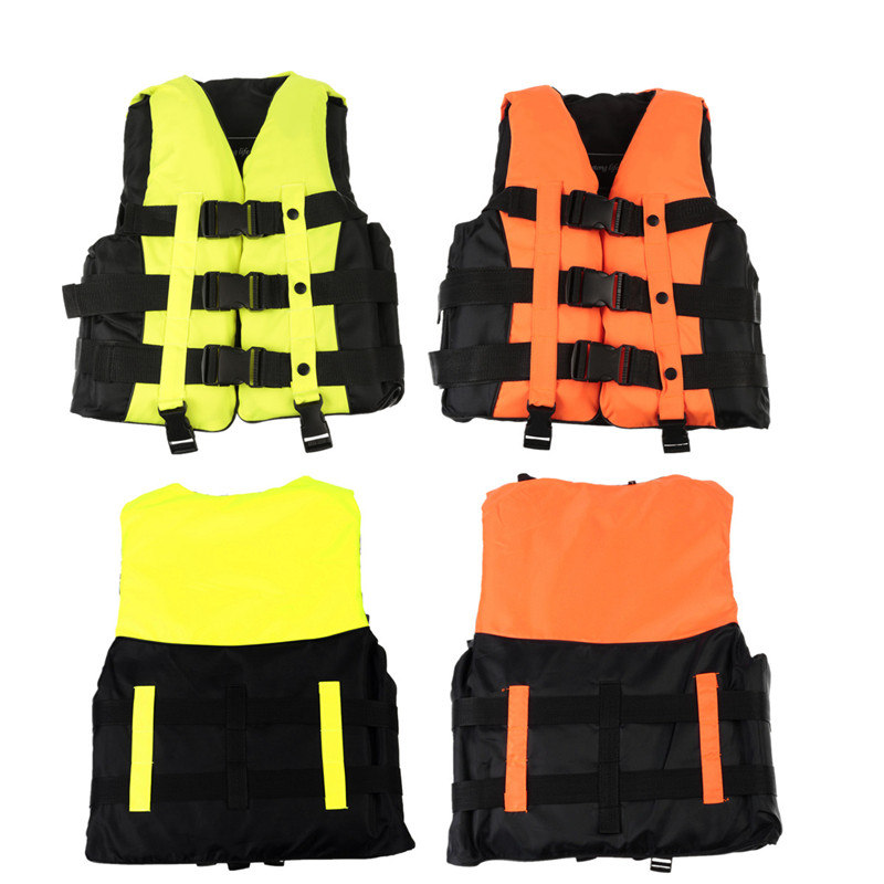 S EPE Adult Swimming Boating Surfing Sailing Polyester Foam Life Jacket Vest Whistle Prevention Flood With Stride Across Zone neoprene surfing floating life vest rafting snorkeling pfd inflatable kids women men life jacket swimwear swimming jacket life
