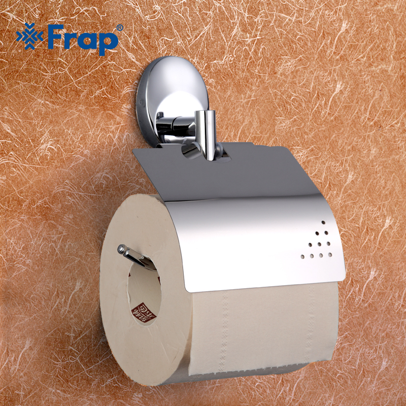 Frap silver Antique Bronze Cover Toilet Paper Towel Holder Space Aluminium Mounting Seat ...
