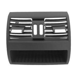 Image 4 - Air Conditioning Vent Outlet Rear Center Console Fresh Air Outlet Vent Grille Cover for BMW 5 SerieF10 F18 Auto Accessories Part