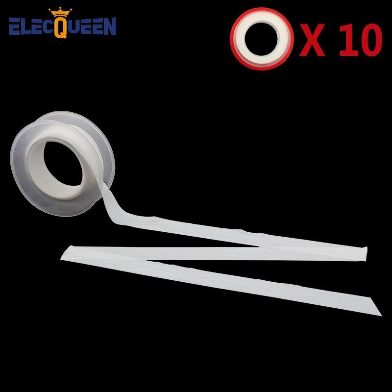 5 Pcs Plumbing Fitting Thread Seal Non-toxic Tape PTFE Water Pipe Plumber Repair