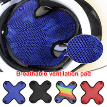 4 Colors Motorcycle Vehicle Helmet Padding Motorcycle Safety Protection Hat Cap