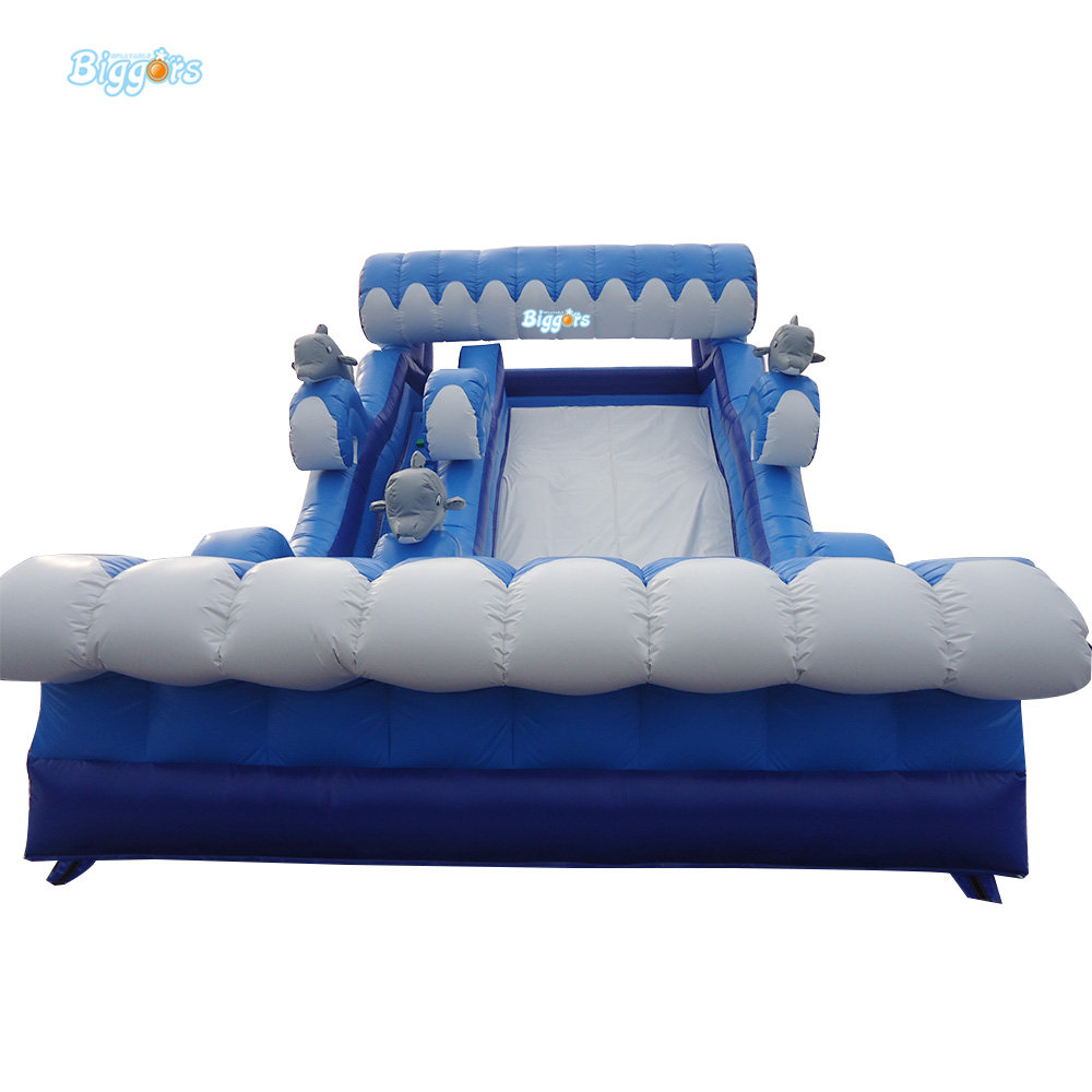 Sea Shipping Affordable Inflatable Bounce House Water Slide Pool Tobogan Inflable With Pool  free sea shipping giant durable kids hinchables inflatable bounce house water slide