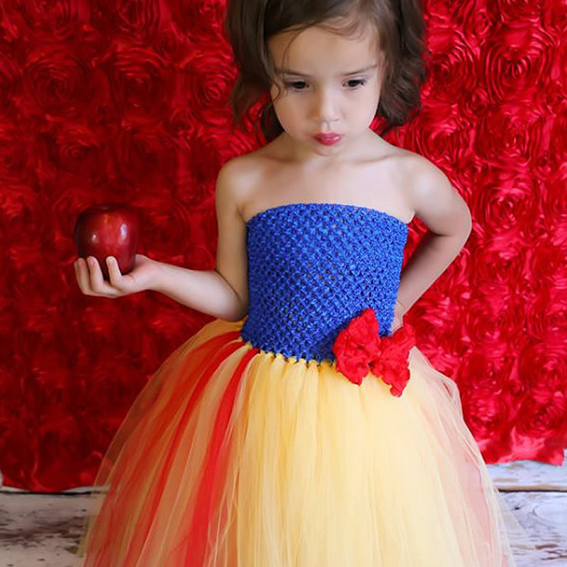 ФОТО 2016 Top quality Fashion Flower Girl Dresses Baby Bow 2-6Year Cute Two-piece Draped Ball Gown Evening Dress Children Birthday