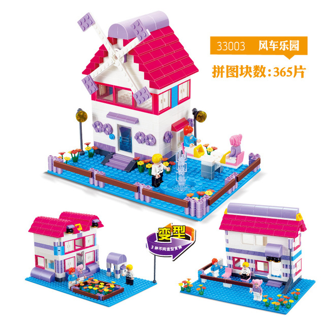 Models Building Toy 33003 Friends Heartlake Stables Girls Mias Farm