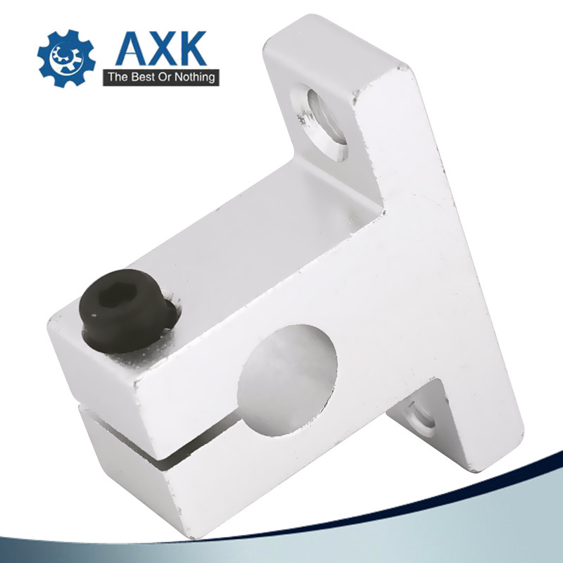 SHF60 60mm Linear Rod Rail Shaft Support FOR XYZ Table CNC Router Mill 1 PCS