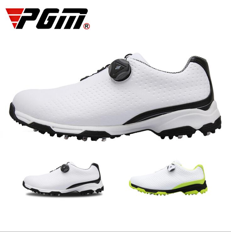 pgm 2018 new Golf Shoes Men Sports Shoes Waterproof Male Knobs Buckle Shoelace Breathable shoespgm 2018 new Golf Shoes Men Sports Shoes Waterproof Male Knobs Buckle Shoelace Breathable shoes