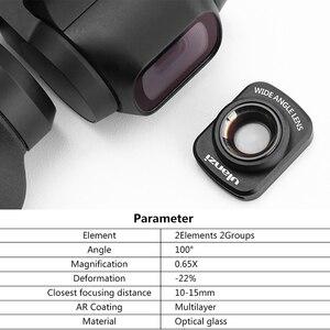 Image 3 - DJI אוסמו כיס רחב זווית עדשה מקצועי HD מגנטי מבנה עדשות עבור DJI אוסמו כיס מצלמה עם דיור מקרה