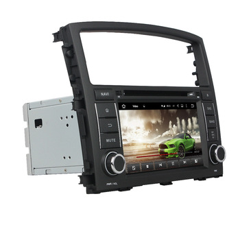 CarPlay PX6 4gb+64gb 7 Android 10 Car Radio DVD GPS Bluetooth 5.0 WIF for Mitsubishi Pajero V97 V93 2006-2015 Multimedia player image
