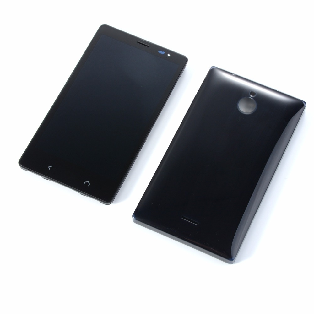 For <font><b>Nokia</b></font> X2 Dual SIM RM-1013 X2DS LCD Display Touch Screen Digitize+Housing Front Frame <font><b>Cover</b></font>+<font><b>Battery</b></font> back <font><b>cover</b></font> image