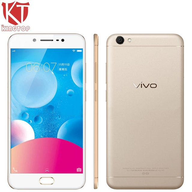 8e9af2063 KT New VIVO Y67 4G LTE Mobile Phone 4GB RAM 32GB ROM MTK6750 Ocat Core 5.5  inch Android 6.0 16PM+13MP Camera HIFI Smart Phone
