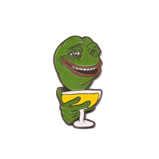 US $2.85 27% OFF|Well Meme'd my friend Meme Pepe the Frog Lapel Pin Badge in Pins & Badges from Home & Garden on | Alibaba Group