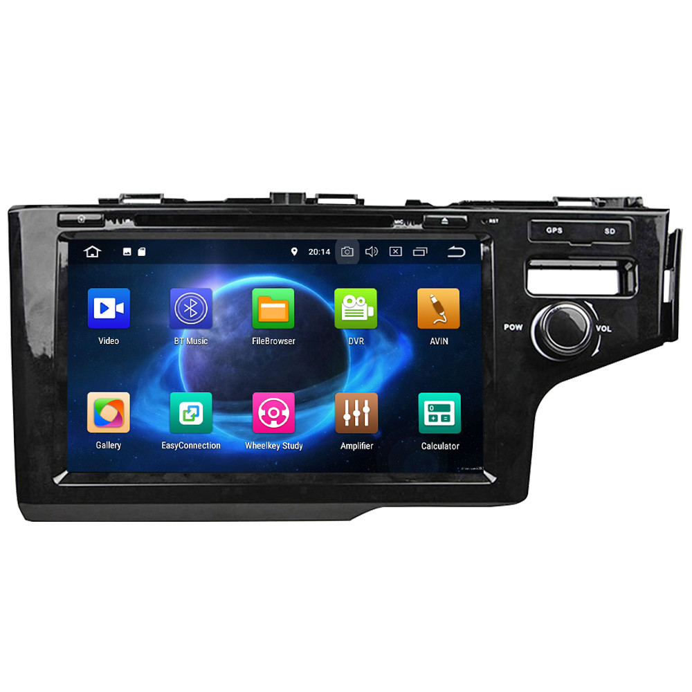 """KLYDE 9"""" IPS 4G Android 8.0 7.1 Octa Core 4GB RAM 32GB ROM RDS Car DVD Player Radio Stereo Glonass For Honda Fit Jazz 2014 2016-in Car Multimedia Player from Automobiles & Motorcycles    2"""