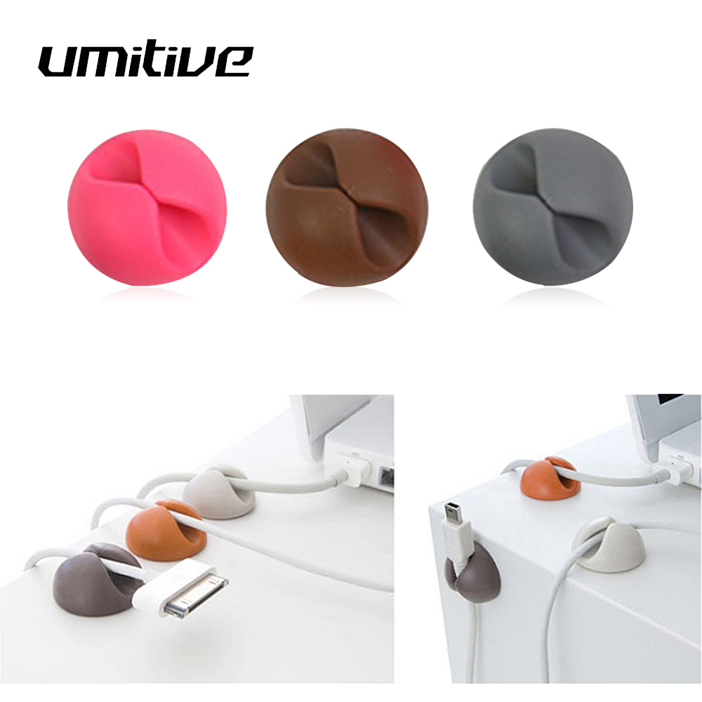 Umitive 1 Pcs Office Accessories Winder Cable Organizer Stationary Cord Winder Desk Organizer Set School Office Supplies