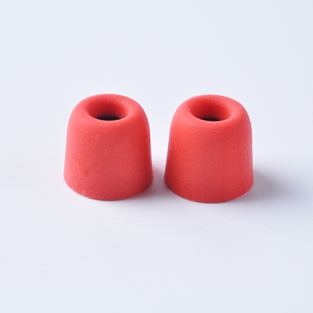 KZ 1Pair(2pcs) 5mm T400 Noise Isolating Memory Foam Ear Tips Ear Foam Eartips For In Ear Earphone Earbud Headset For AS10 BA10