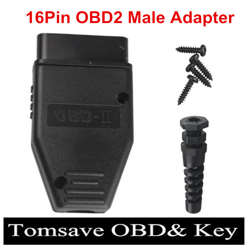 Back To Search Resultsautomobiles & Motorcycles 10pcs/lot New Obd2 16pin Male Female Connector Plug Adapter Obd Obdii Eobd J1962 Obd2 16pin Wiring Adapter 16pin Shell Wholesale In Pain Car Diagnostic Cables & Connectors