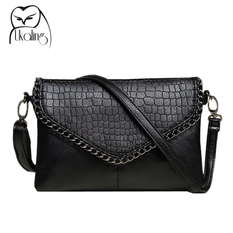 UKQLING Fashion Small Bag Women Messenger Bags Soft PU Leather Crossbody Bag For Women Clutches Bolsas Femininas Dollar Price lykanefu fashion black rock skull bag women messenger bags designer handbag clutch purse bag bolsas femininas couro dollar price