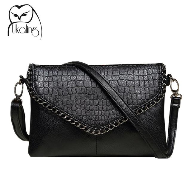 UKQLING Fashion Small Bag Women Messenger Bags Soft PU Leather Crossbody Bag For Women Clutches Bolsas Femininas Dollar Price