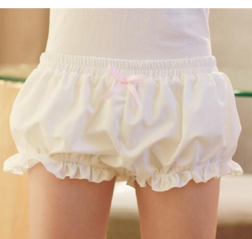 200pcs Princess Bowknot Sweet Lolita Ice Cream Color Shorts Pumpkin Cosplay Ruffles Decoration New