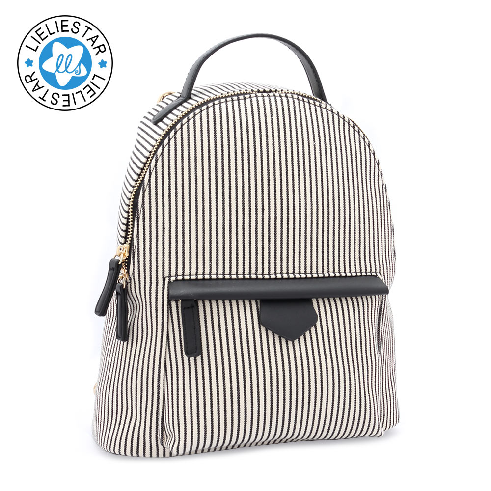 women small backpacks striped schoolbag feminine canvas printing sac a dos school bag for girls 2017 female mini backpack makorster fashion letter pattern women backpack bag drawstring bagpacks canvas backpacks cheap printing feminine backpack mk232