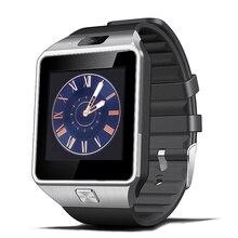 2016 Bluetooth Smartwatch Mit Kamera DZ09 Android Gesundheit Montre Connecter Schrittzähler Männer Unterstützung Sim-karte Digital-Uhr Geschenkbox