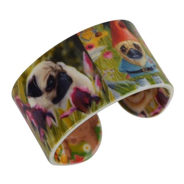 Bright Colorful Dog Patterned Bracelet