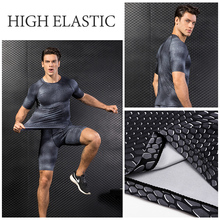 Yd New Quick Dry Tank Man's T-Shirt Gym Fitness Tights Top Soccer Jerseys Running T Shirt Demix Men'S Sportswear  Rashgard Male