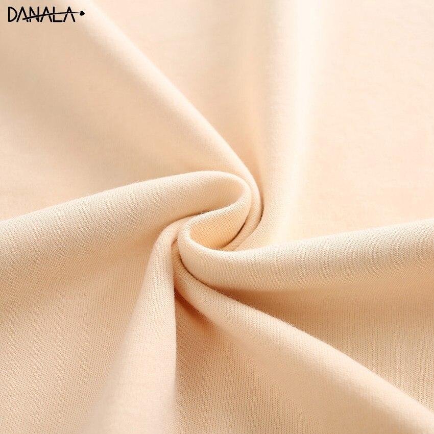 Free ShipÖDANALA Nightwear Pajamas-Sets Sleepwear-Sets Short-Sleeve Vogue Women Home-Suits Cotton