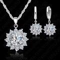 Ожерелье и Комплект сережек для женщин Femmin  с подвеской из стерлингового серебра 925 пробы
