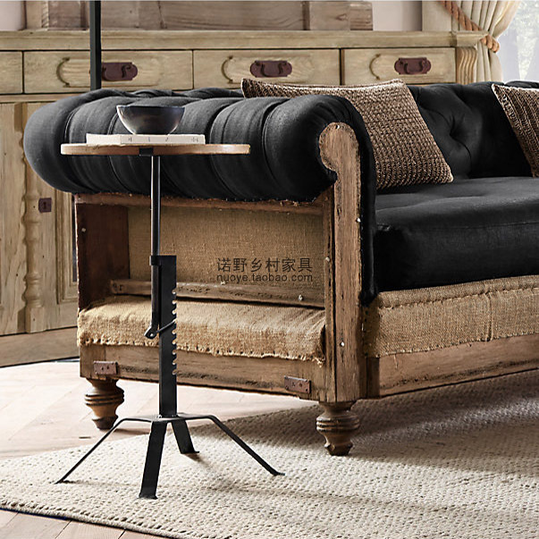 Cool Buy European Old Industrial American Country Retro Furniture Sofa Side  A Few Several Loft Angle Country House Furniture From Reliable With Old ...