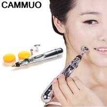 Electric Acupuncture Magnet Therapy Heal Massage Pen Body Face Chinese Meridian Massager Energy Pen  Health Care Korean Beauty