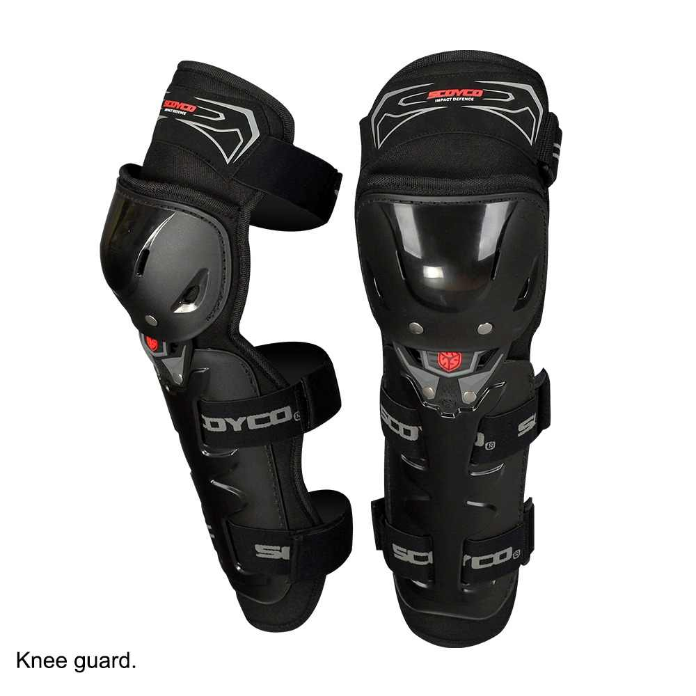 SCOYCO 2019 Motorcycle Knee Guard 2 pcs with PP Shell Protection Shin Protector Safety Cycling Racing Extreme Sport Equippment