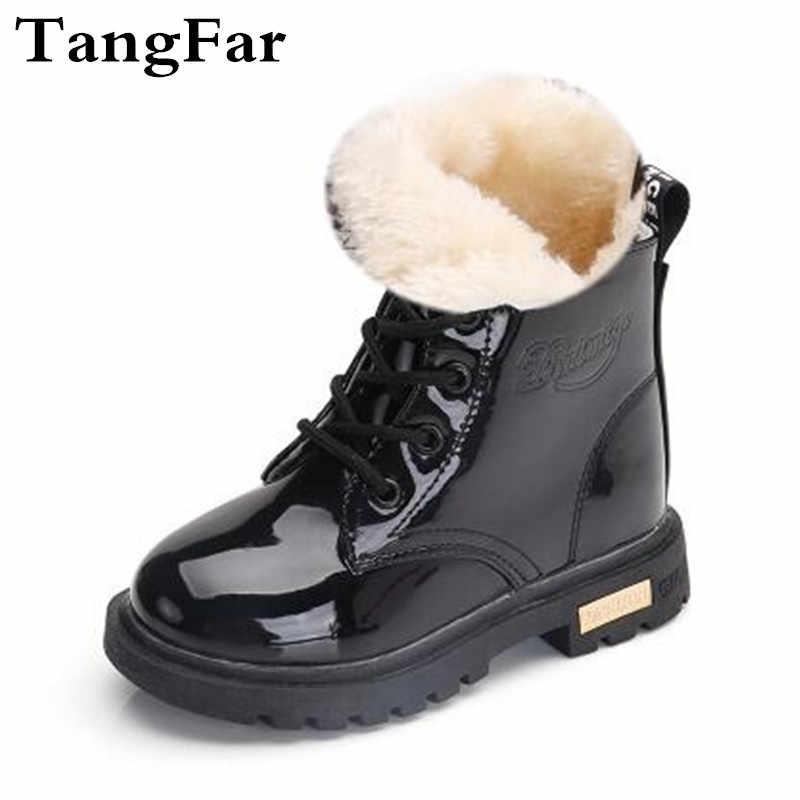 filles enfant chaussures Botas peluche cuir garçons en bottes bottes caoutchouc bas âge enfants verni imperméable en en baskets en Enfants neige Nn8wOvm0