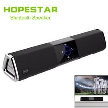 лучшая цена HOPESTAR A3 Home Theater Wireless Bluetooth 2.1 Speaker Column Dual Subwoofer Loudspeaker 3D stereo surround charge TV Sound bar