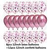 20pcs pink set