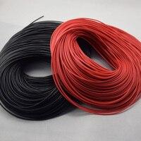 18AWG 20 metro / 10 noir + 10red fil Gauge Silicone fil souple câbles de cuivre torsadé pour RC meilleures ventes