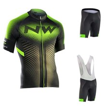 Northwave Cycling Clothing Mens Triathlon Short Sleeve Breathable Summer Set Ropa Ciclismo Hombre Kit