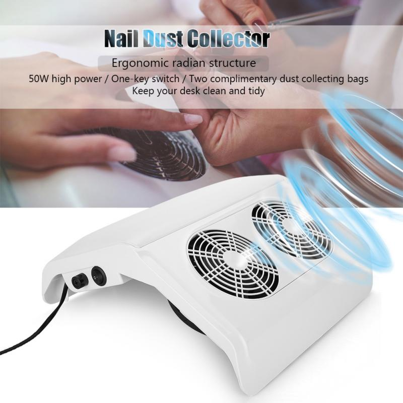 Nail Art Salon Suction Dust Collector Manicure Machine 50w Dust Machine Vacuum Cleaner Manicure Pedicure Tools цены онлайн