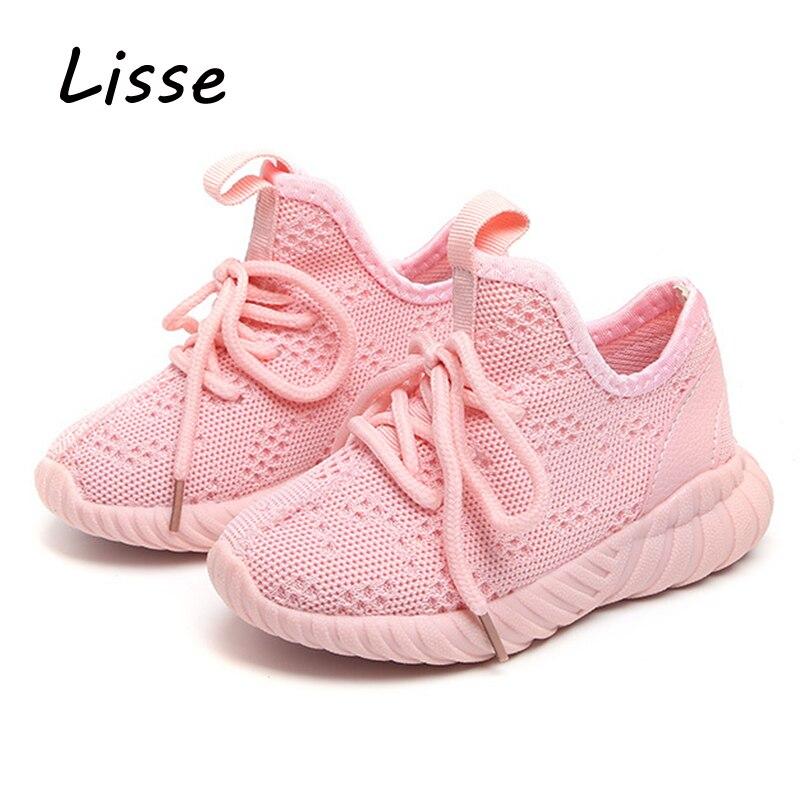 f8808da70777a Enfants Chaussures Lumière pour Filles Bébé Garçons 2018 Printemps ...