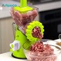 Alta Calidad Multifuncional Manual Hogar Picadora de Carne Para Picar Carne/Vegetales/Spice Picadora de Carne de Salchicha de manivela